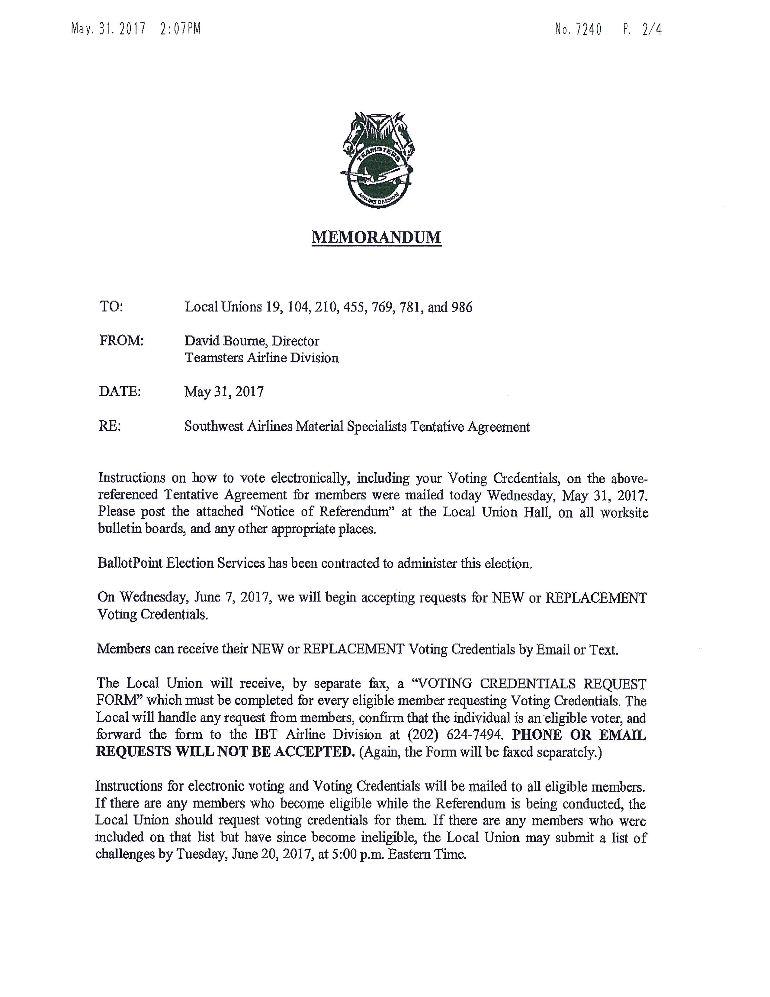 Teamsters Local Union No. 104 | Divisions